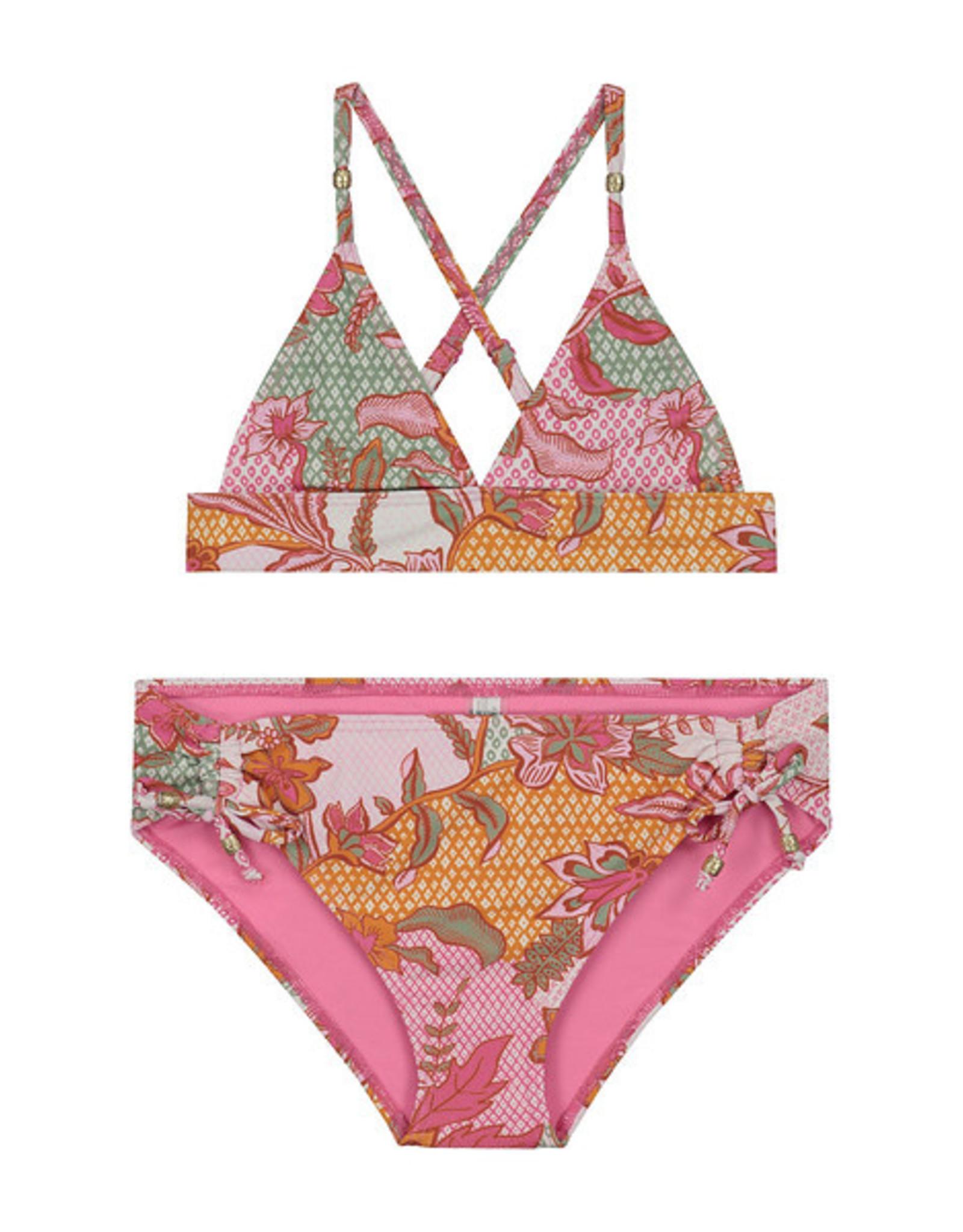 Shiwi Shiwi bikini batik halter triangle bloemenprint