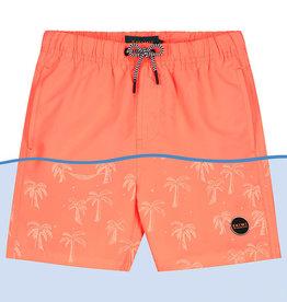 Shiwi Shiwi zwemshort magic palmtree neon orange