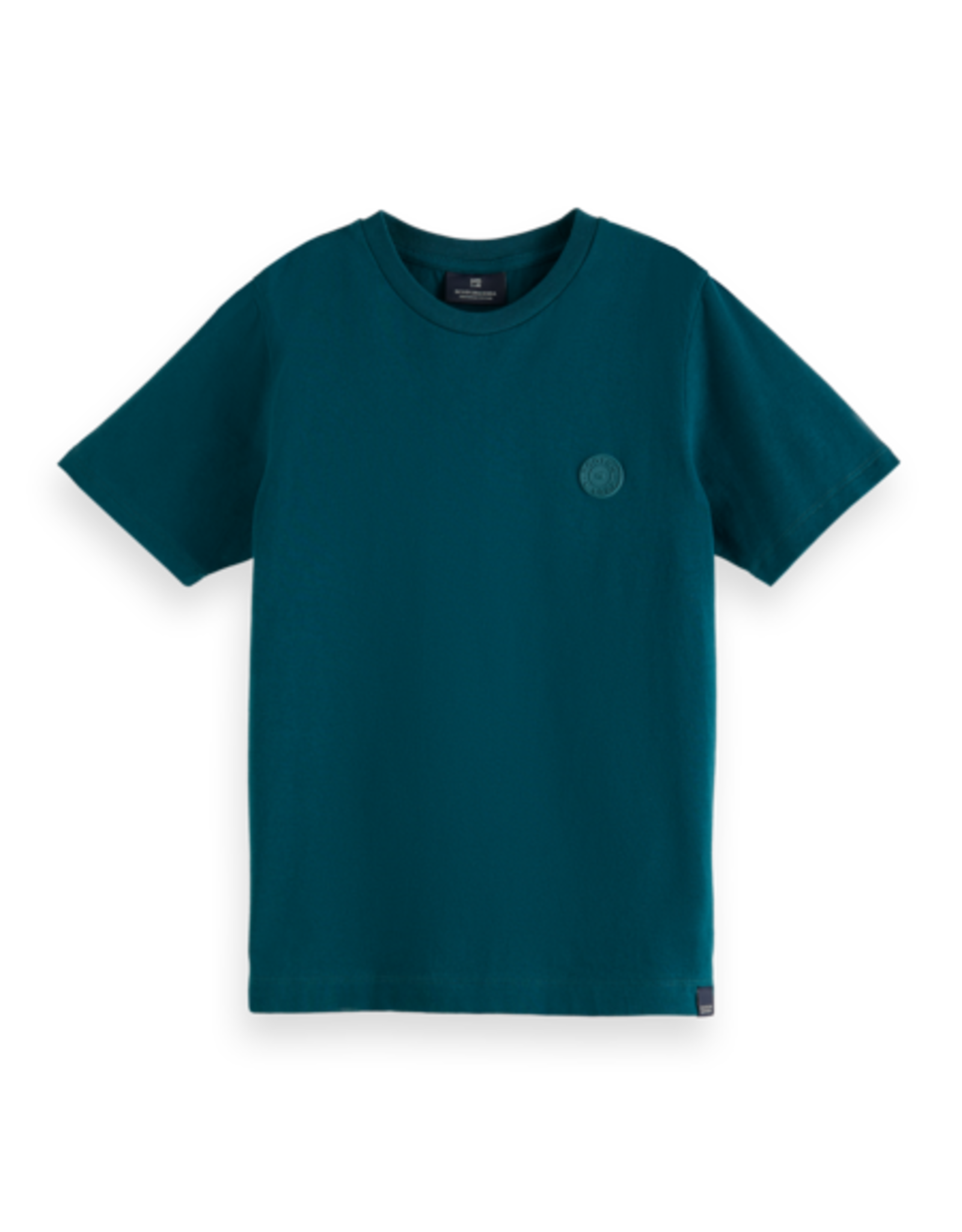 Scotch & Soda Scotch Shrunk donkergroen t-shirt