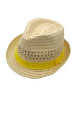 Maximo Maximo zomerhoedje met gele band
