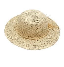 Maximo Maximo zomerhoedje met strikje beige