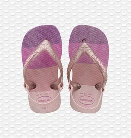 Havaianas Havaianas baby teenslippers palette glow candy pink