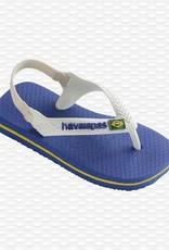 Havaianas Havaianas baby teenslippers brasil logo marine blue
