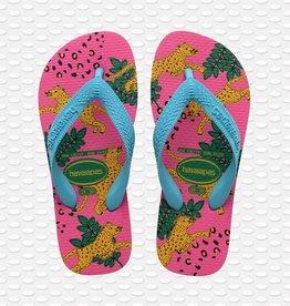Havaianas Havaianas teenslippers panters pink flux