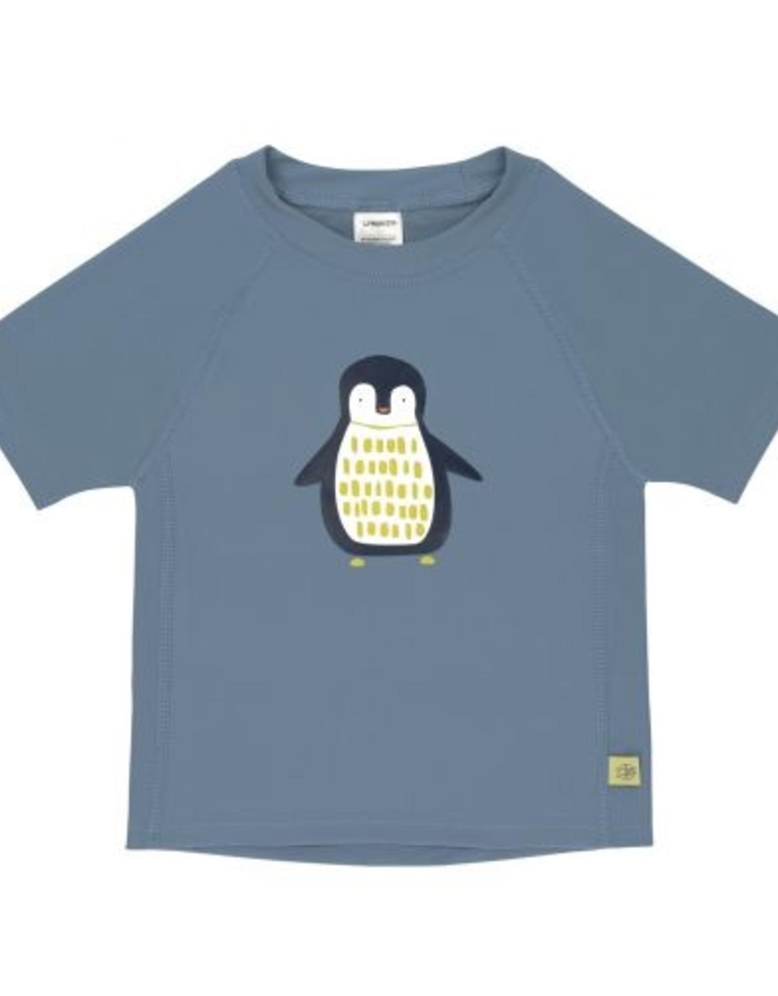 Lässig Lässig zwemshirt UPF40 Penguin Niagara Blue