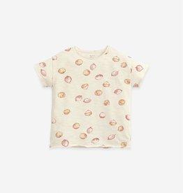 Play Up Play Up t-shirt met citroenenprint dandelion (ecru)