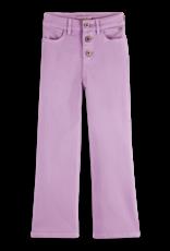 Scotch & Soda Scotch R'Belle wijde  paarse broek