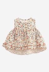 Play Up Play Up tuniekje met bloemenprint dandelion (ecru)