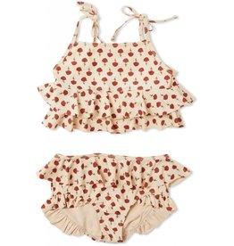 Konges sløjd Konges Sløjd bikini Manuca Poppy Flower-Red