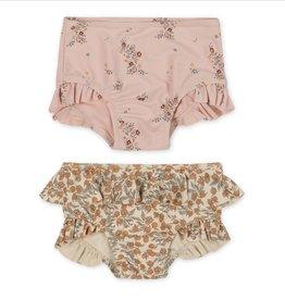 Konges sløjd Konges Sløjd set van 2 bikini broekjes Blush/Orangery