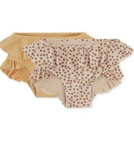 Konges sløjd Konges Sløjd set van 2 bikini broekjes Buttercup/Sorbet