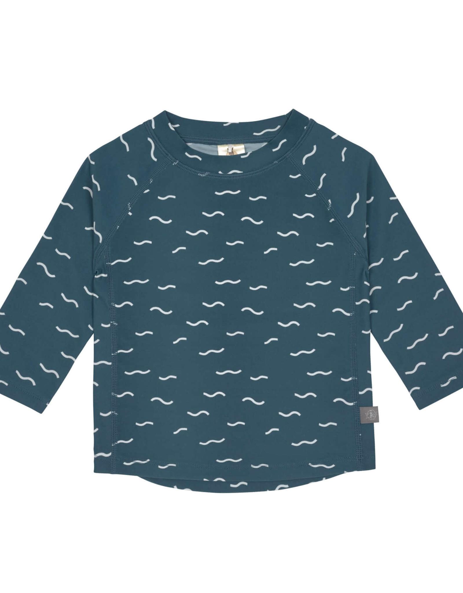 Lässig Lässig zwemshirt UPF50+ met lange mouwen Waves Blue