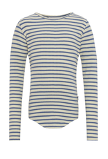 Molo Molo Rochelle geribd t-shirt Marzipan Blue Stripe