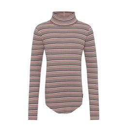 Molo Molo Romaine geribde col t-shirt Multistripe