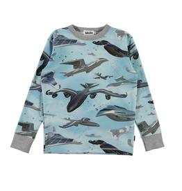 Molo Molo Rill t-shirt met lange mouwen Biomimicry