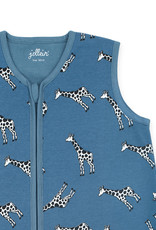 Jollein Jollein baby zomerslaapzak Giraffe Jeans Blue