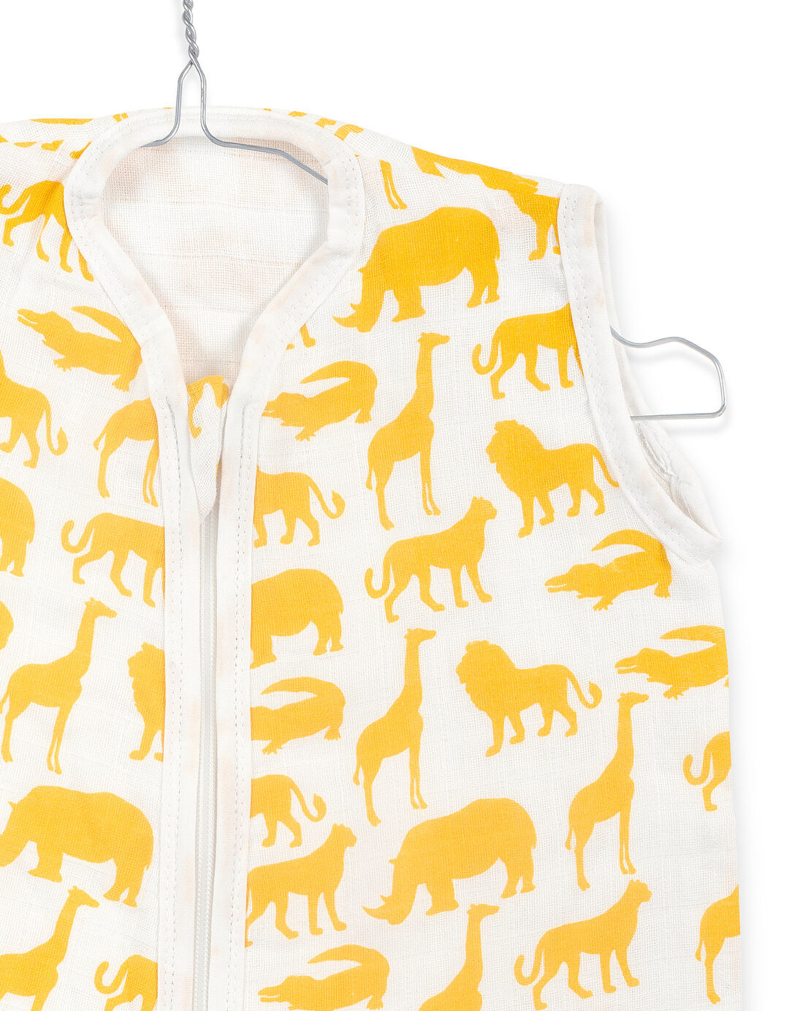 Jollein Jollein baby hyfrofiele zomerslaapzak Safari Ochre