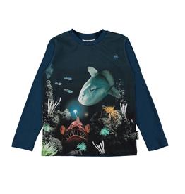 Molo Molo Reif t-shirt met lange mouwen Fishy Business