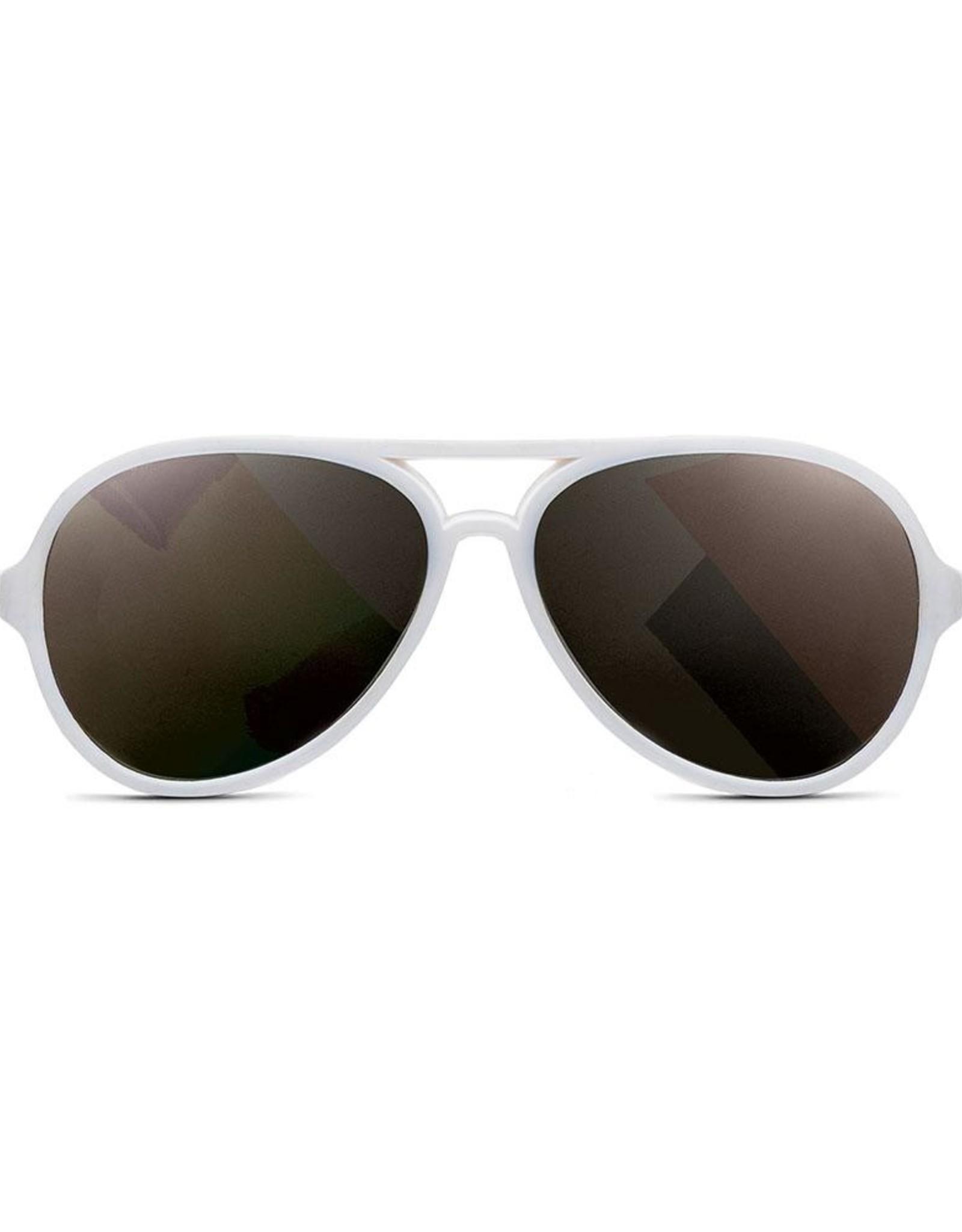 Hipsterkid Hipsterkid Aviator zonnebril wit
