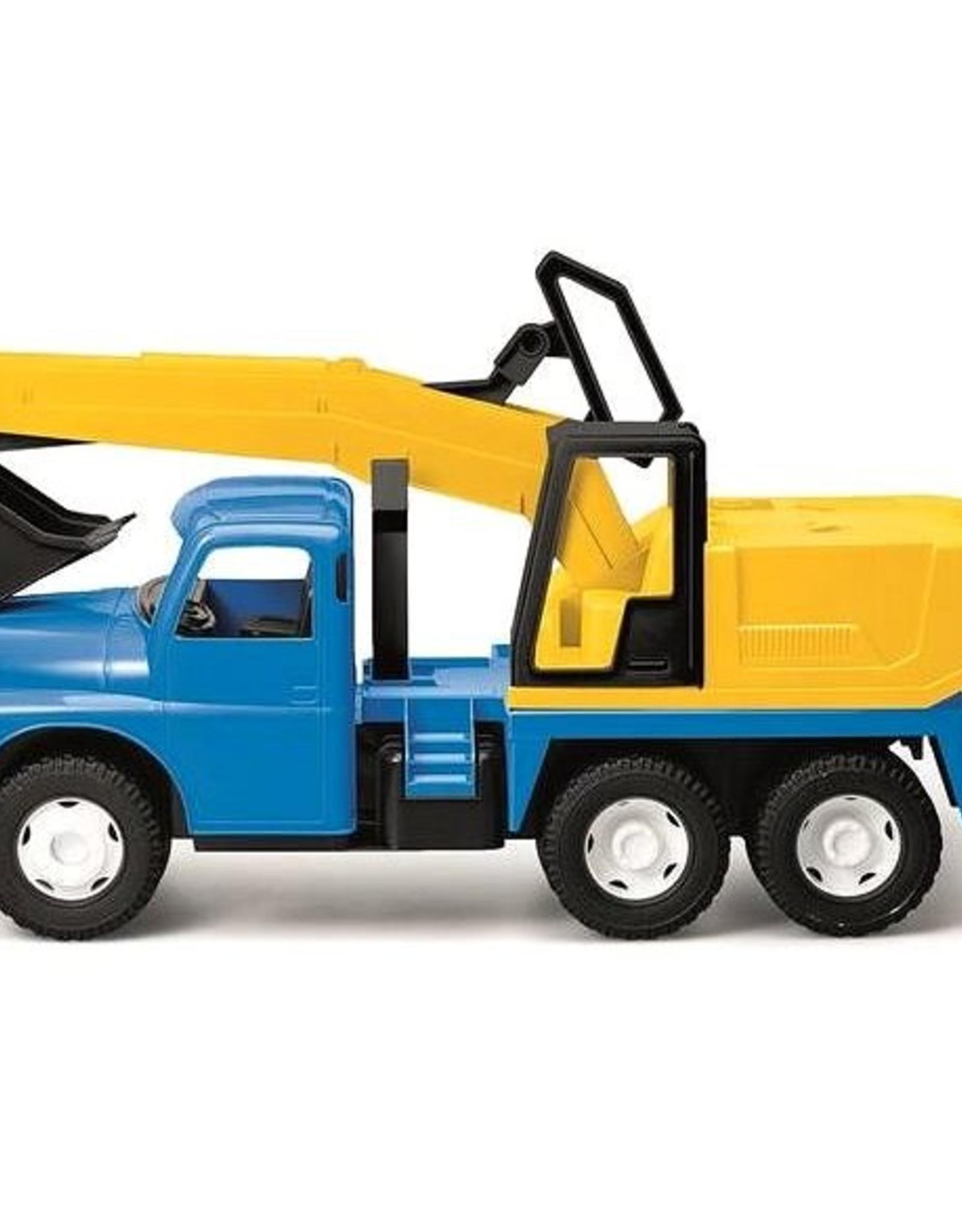 Dino Toys Dino Toys Tatra Graafmachine blauw/geel