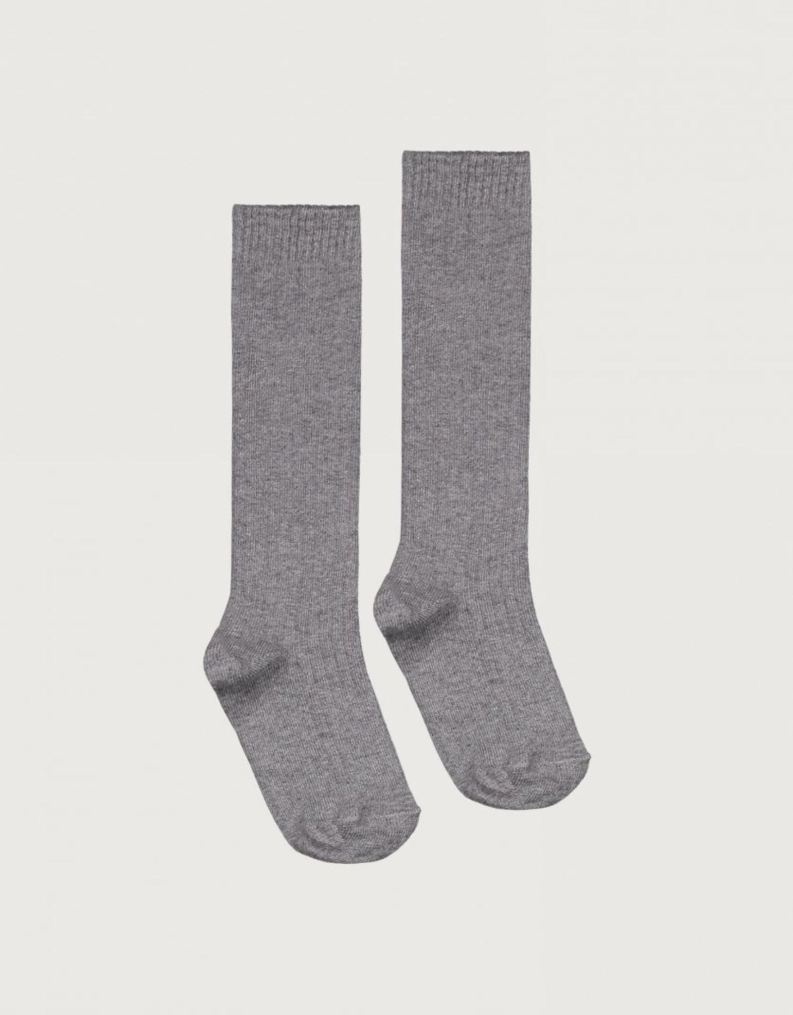 Gray Label Gray Label lange geribde sokken Grey Melange