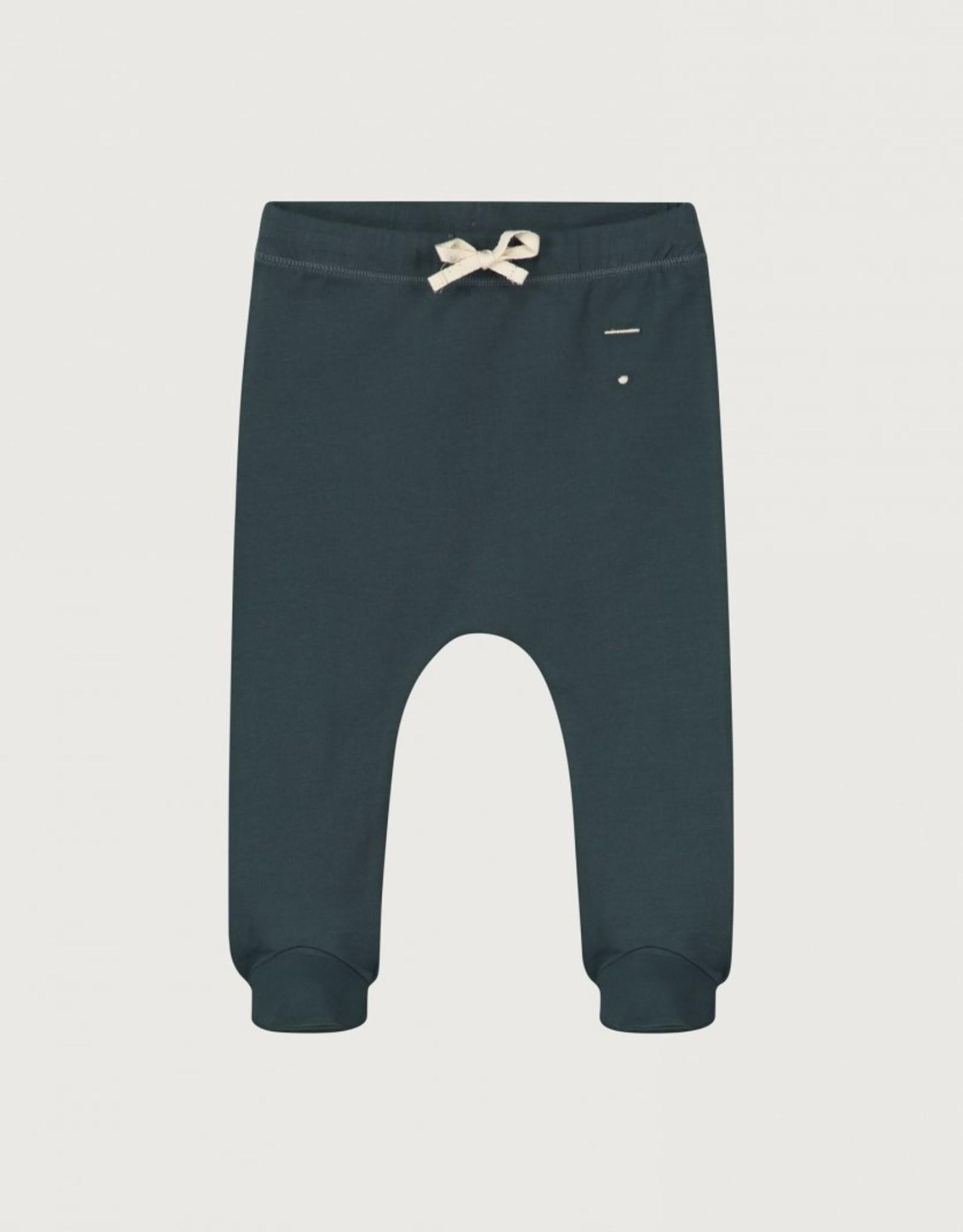 Gray Label Gray Label broekje met voetjes Blue Grey