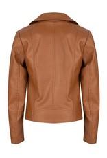 Indian Blue Jeans IBJ biker jasje camel brown
