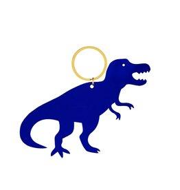 Global Affairs Global Affairs keyring dinosaur blue