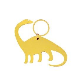 Global Affairs Global Affairs keyring dinosaur geel