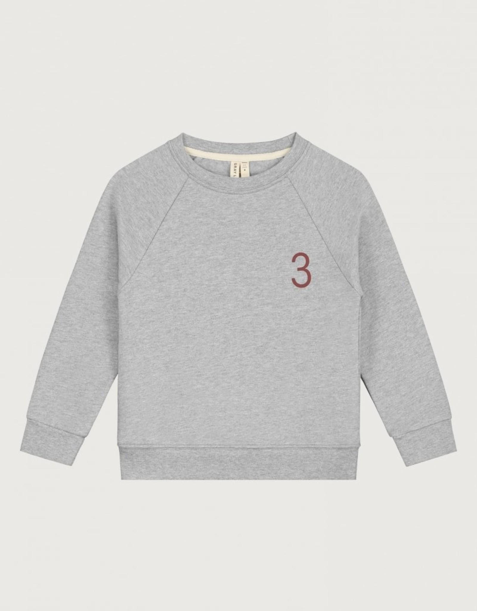 Gray Label Gray Label sweater 3 in grey melange