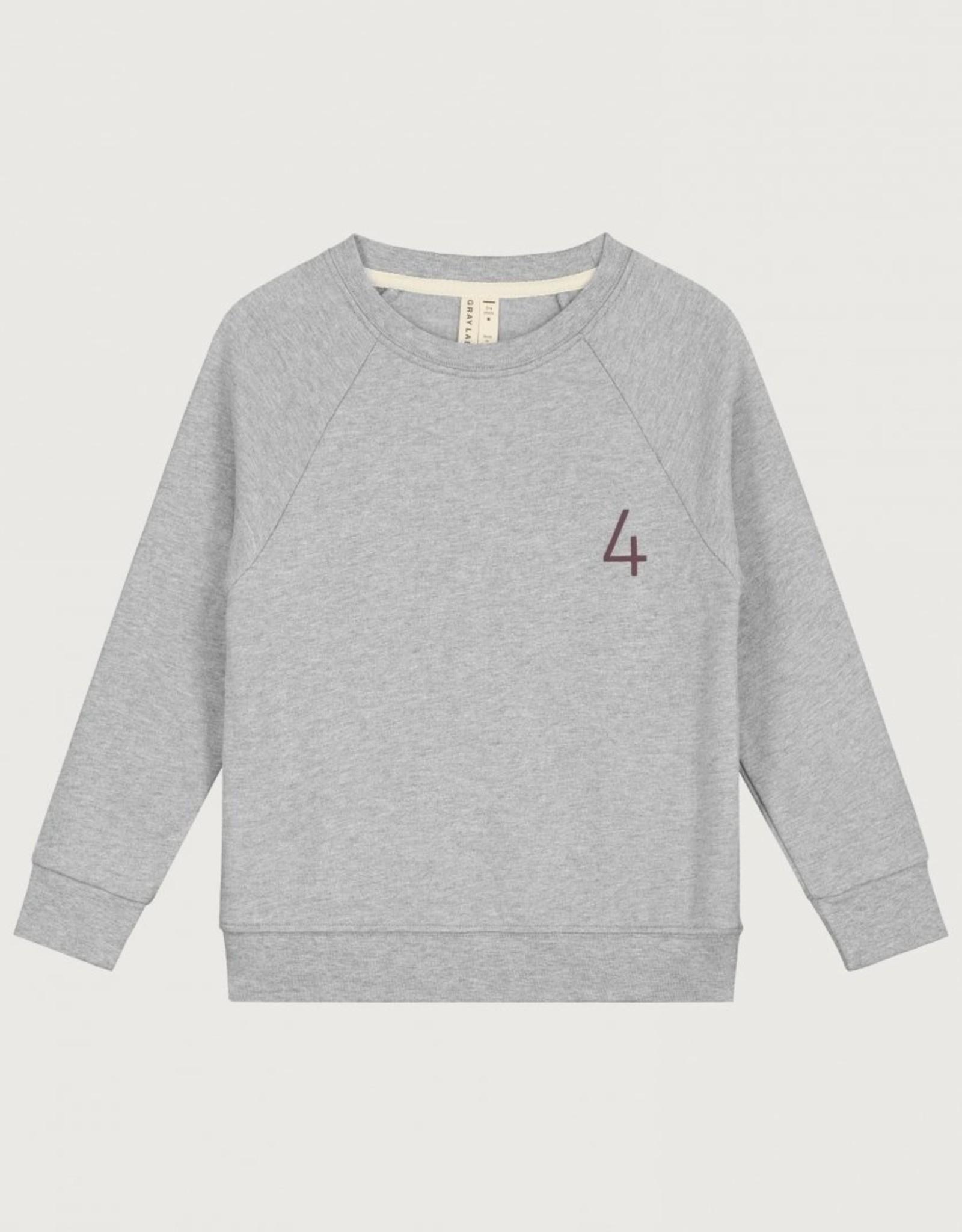 Gray Label Gray Label sweater 4 in grey melange