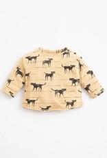Play Up Play Up t-shirt met hondjes kleur olivia