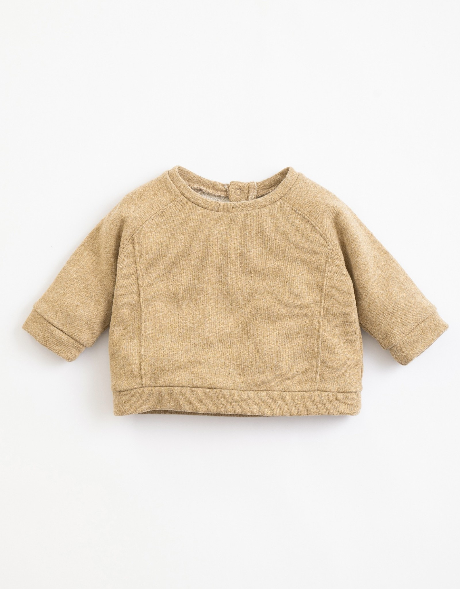 Play Up Play Up fleece sweater paper melange