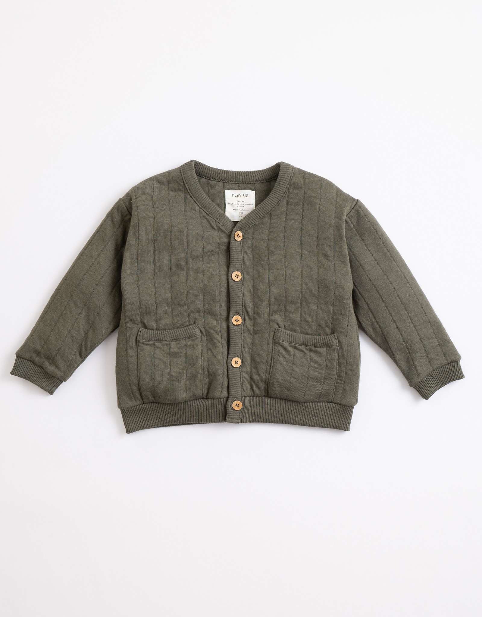 Play Up Play Up padded vest avocado (donkergroen)