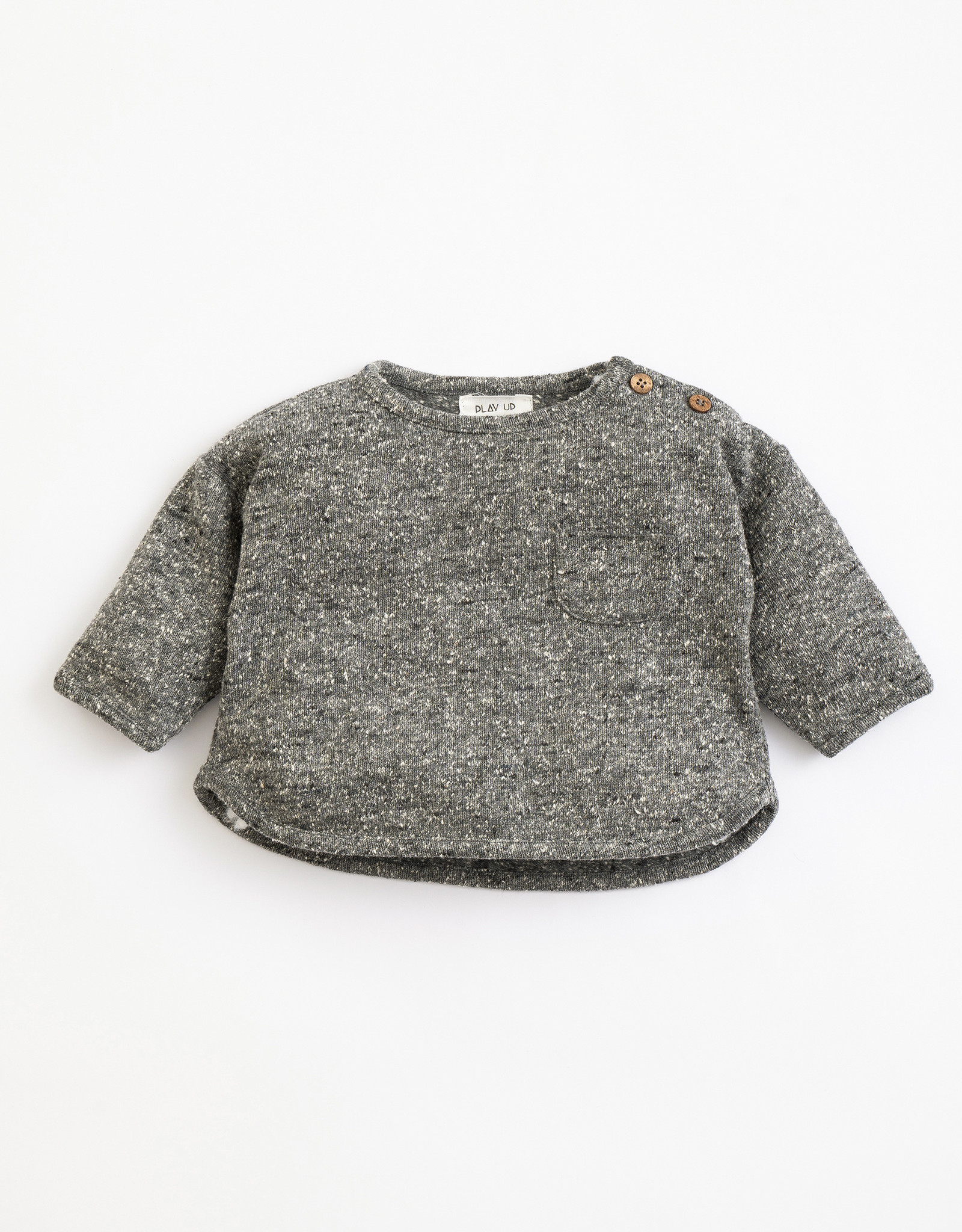 Play Up Play Up sweater met spikkelprint frame