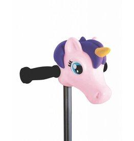 Step hoofd accessoires Eenhoorn paars/roze