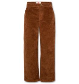 American Outfitters AO Karen corduroy broek bruin