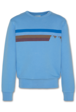 American Outfitters AO Sweater strepen blauw