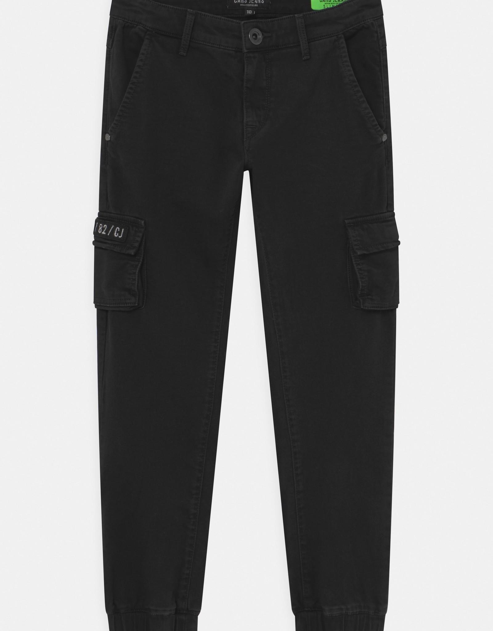 Cars Cars Jeans YUKON cargo broek zwart