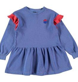 Bonmot Organic Bonmot Organic fleece jurk Sea Blue