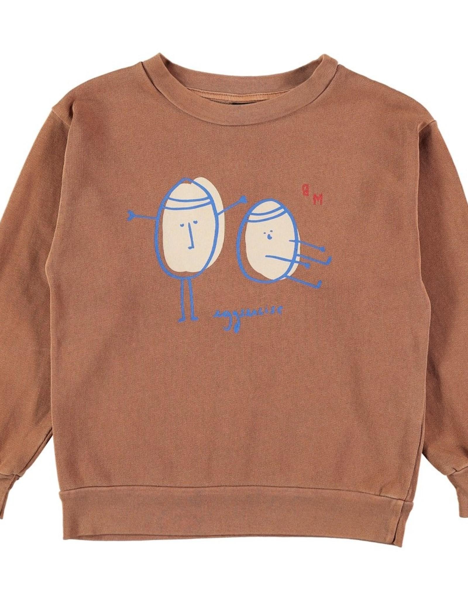 Bonmot Organic Bonmot sweater egg-ercise Wood