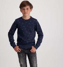 Cars Cars Jeans Sweater Colfax donkerblauw