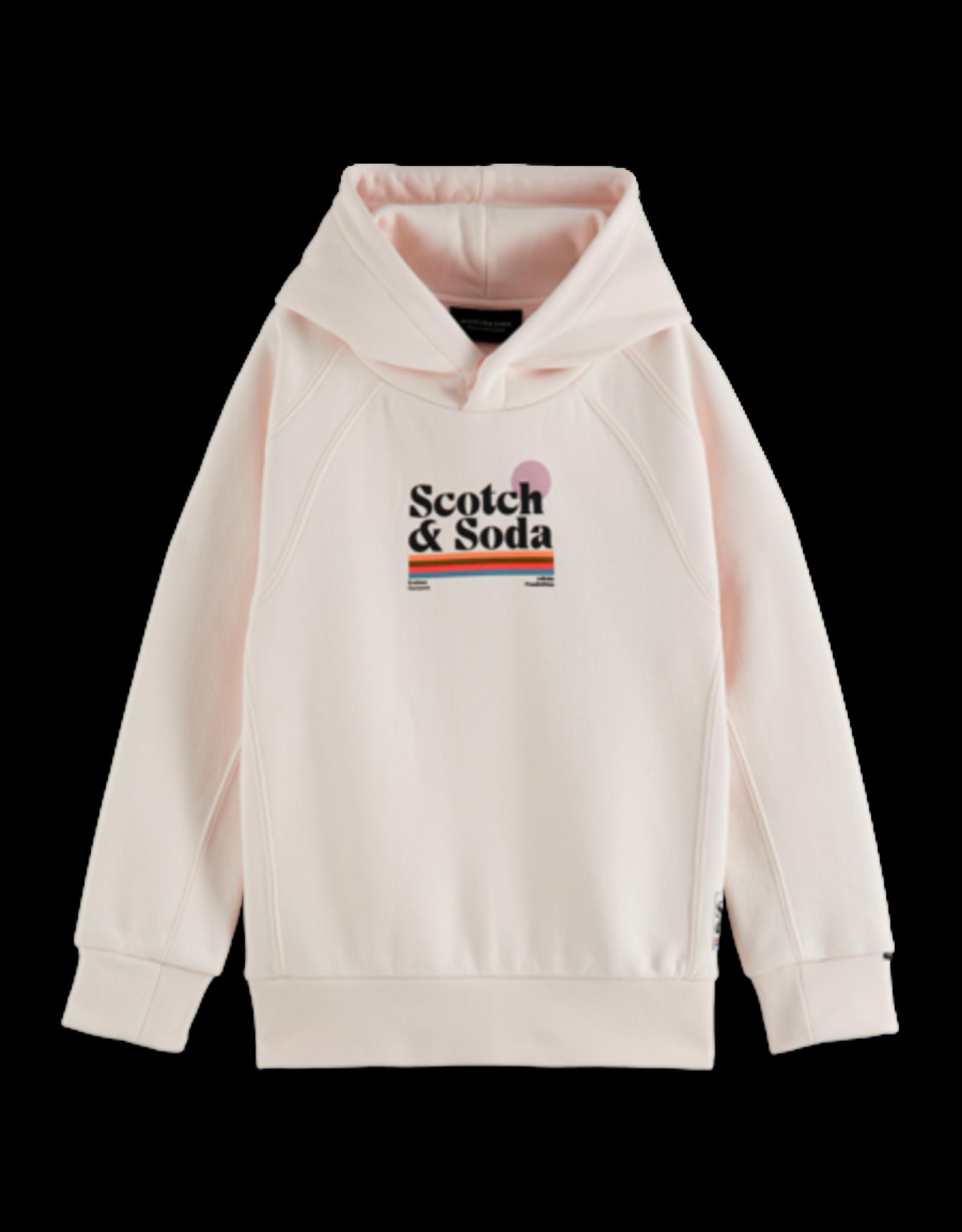 Scotch & Soda Scotch hoodie off white horizon