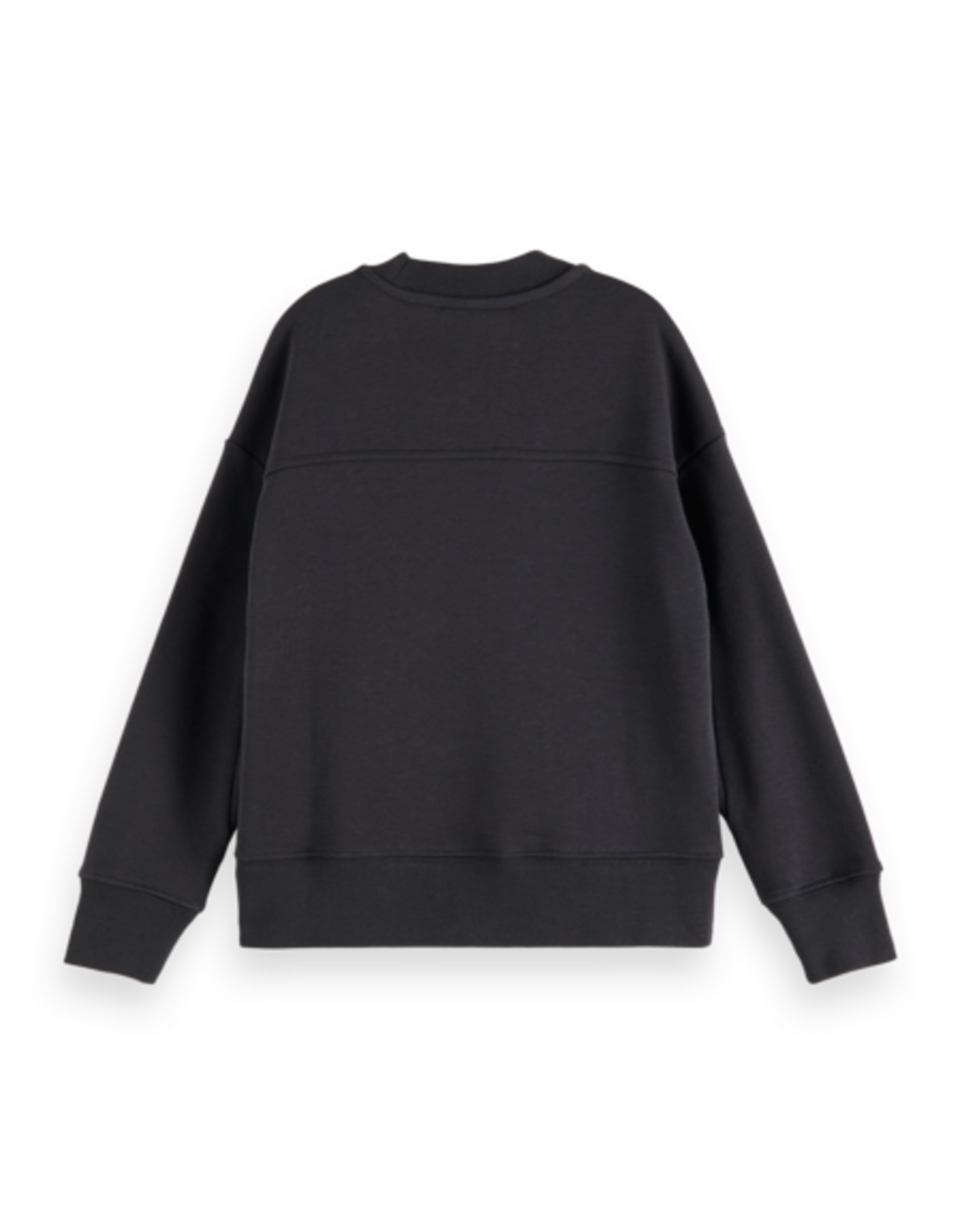 Scotch & Soda Scotch & Soda sweater organic cotton zwart