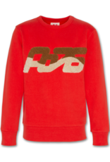 American Outfitters AO sweater waved red