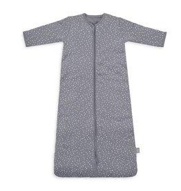 Jollein Jollein babyslaapzak met afritsbare mouwen - Spot strom grey