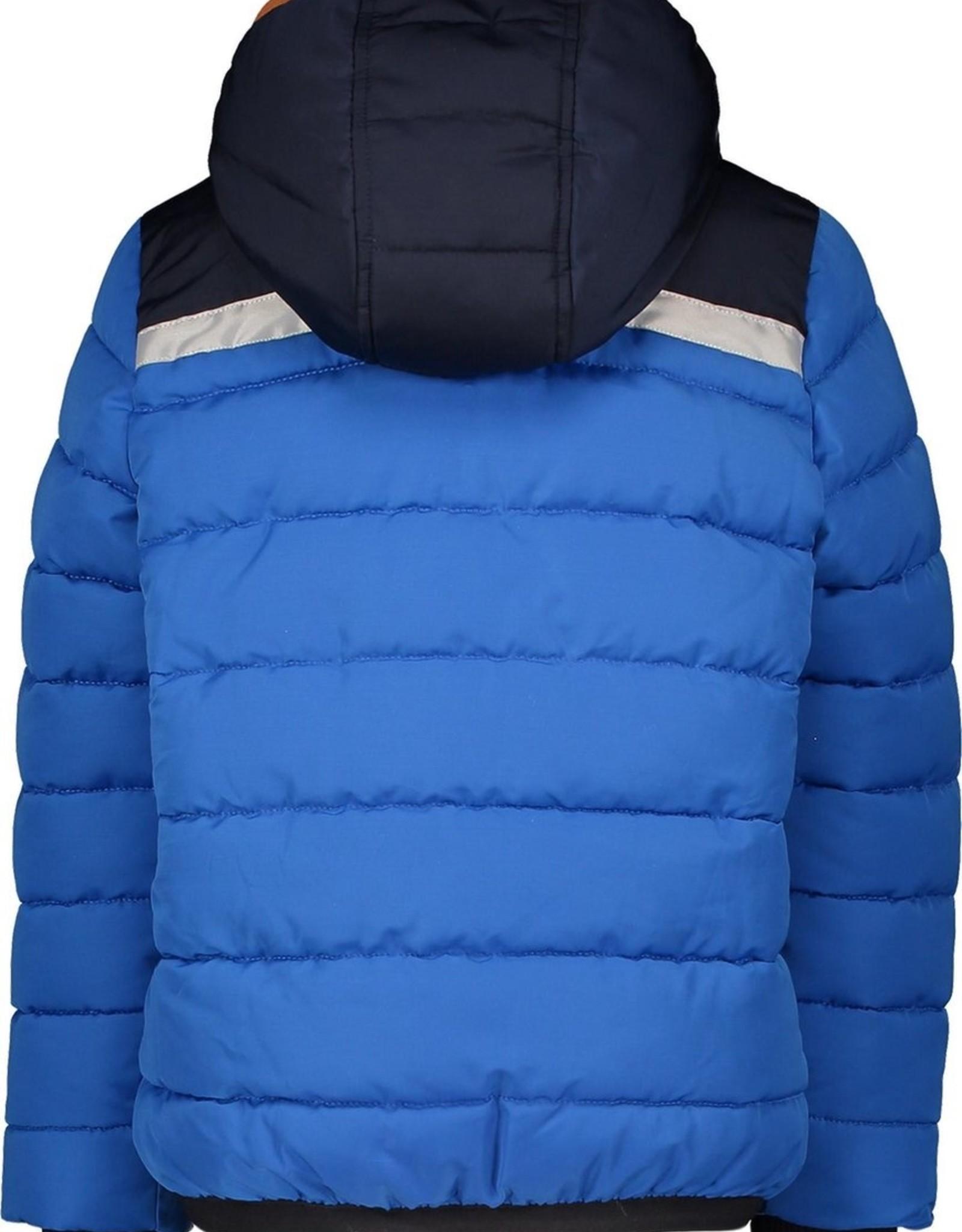 Moodstreet Moodstreet winterjas Sporty Blue