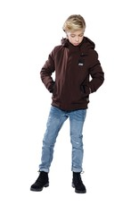 Indian Blue Jeans Indian Blue Jeans Softshell winterjas bruin