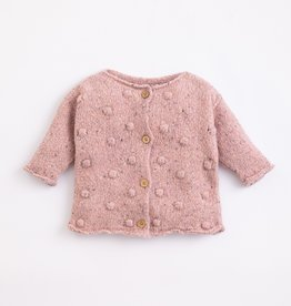 Play Up Play Up knitted jacket Cor de rosa