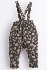 Play Up Play Up broekje met bretels jaguard print frame melange